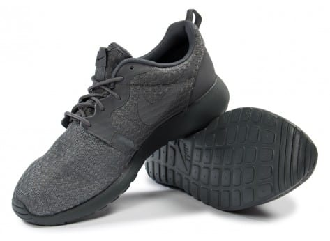 Chaussures Nike Roshe One Hyperfuse grise vue intérieure