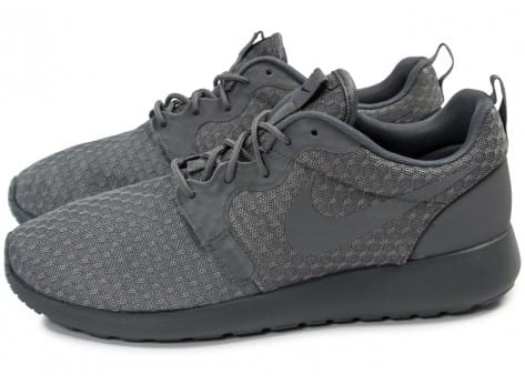 Chaussures Nike Roshe One Hyperfuse grise vue extérieure