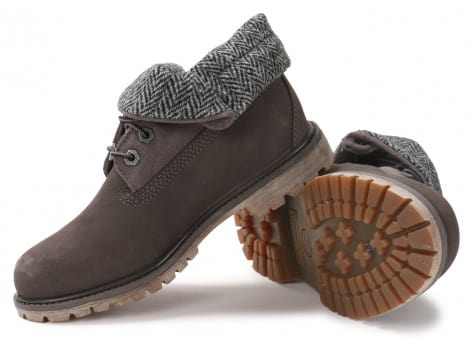 Timberland 6-Inch Roll-Top grise - Chaussures -50% sur le 2e article ...