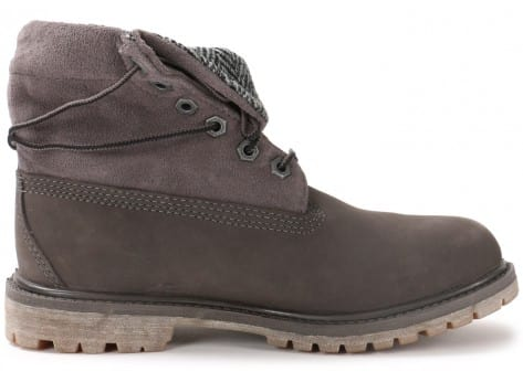 Chaussures Timberland 6-Inch Roll-Top grise vue dessous