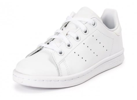 Chaussures adidas Stan Smith Enfant blanche vue avant