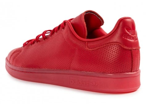 Chaussures adidas Stan Smith Adicolor rouge vue arrière