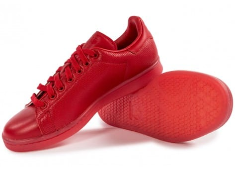 Chaussures adidas Stan Smith Adicolor rouge vue intérieure