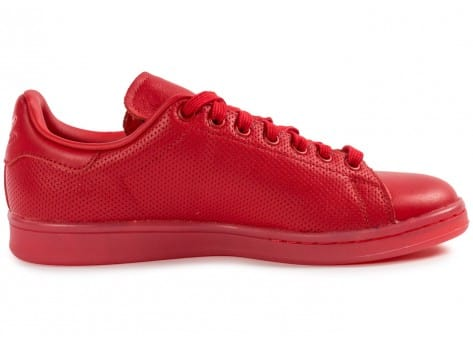 Chaussures adidas Stan Smith Adicolor rouge vue dessous