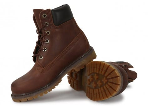 Chaussures Timberland 6-Inch Premium Boot F marron vue intérieure
