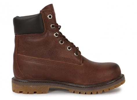 Chaussures Timberland 6-Inch Premium Boot F marron vue dessous