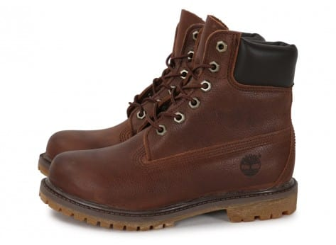 Chaussures Timberland 6-Inch Premium Boot F marron vue extérieure
