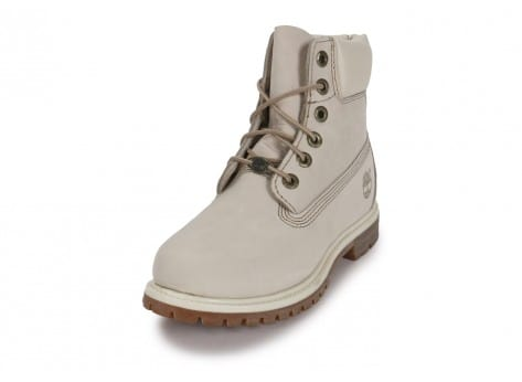 Chaussures Timberland 6-Inch Premium Boot Blanche vue avant
