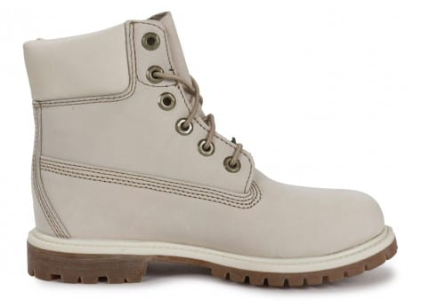 Chaussures Timberland 6-Inch Premium Boot Blanche vue dessous