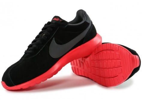 Chaussures Nike Roshe LD-1000 Suede noire vue intérieure