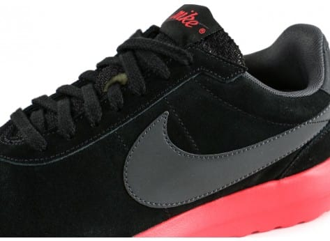 Chaussures Nike Roshe LD-1000 Suede noire vue dessus