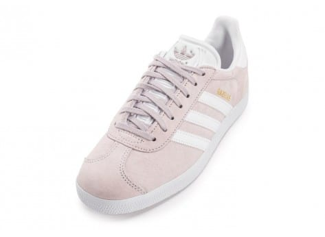 Chaussures adidas Gazelle W Old Rose vue avant