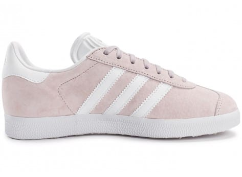 Chaussures adidas Gazelle W Old Rose vue dessous