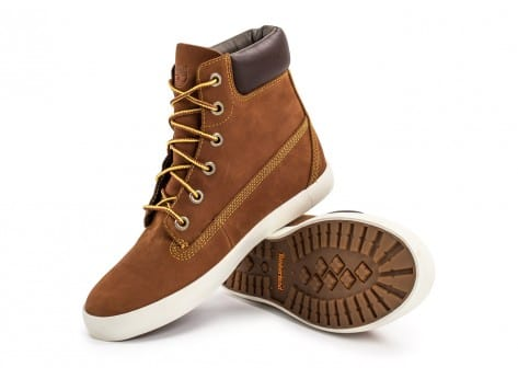 Chaussures Timberland Flannery 6-inch marron vue avant