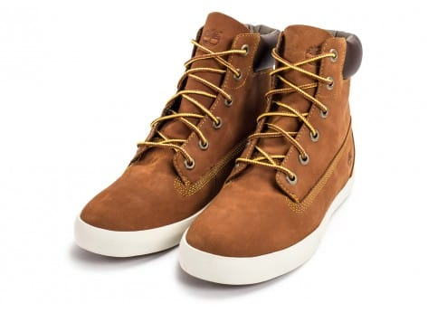 Chaussures Timberland Flannery 6-inch marron vue intérieure