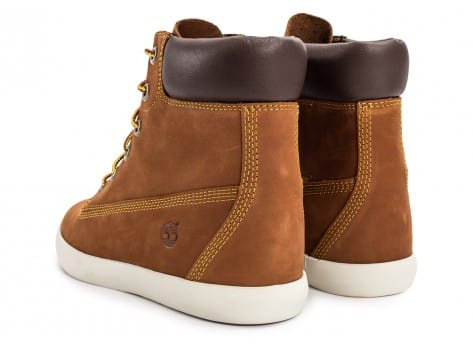 Chaussures Timberland Flannery 6-inch marron vue dessous