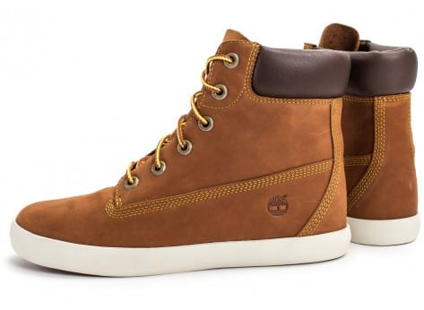 Chaussures Timberland Flannery 6-inch marron vue extérieure