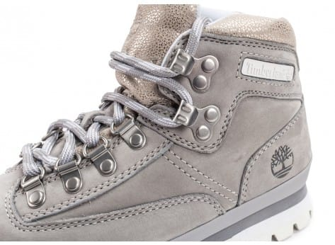 Chaussures Timberland Euro Hiker Medium grise vue dessus