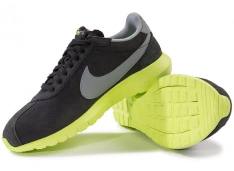 Chaussures Nike Roshe LD-1000 Suede grise vue intérieure