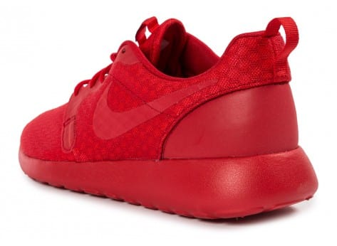 Chaussures Nike Roshe One Hyperfuse rouge vue arrière