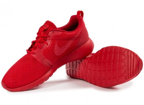 Chaussures Nike Roshe One Hyperfuse rouge vue intérieure