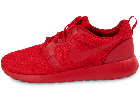 Chaussures Nike Roshe One Hyperfuse rouge vue extérieure