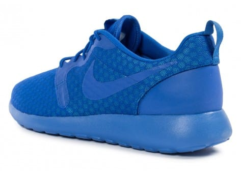 Chaussures Nike Roshe One Hyperfuse bleue vue arrière