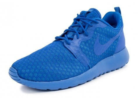 Chaussures Nike Roshe One Hyperfuse bleue vue avant