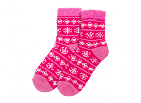 Chaussettes Yaktrax Chaussettes Aloe Cabin rose