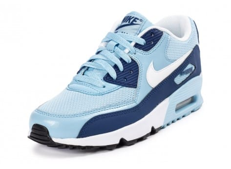 Chaussures Nike Air Max 90 Mesh Junior Light Blue vue avant