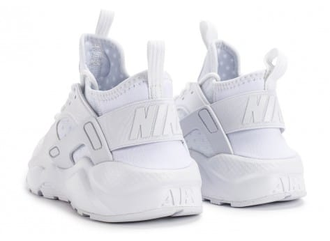 Chaussures Nike Air Huarache Run Ultra Cool Junior blanche vue dessous