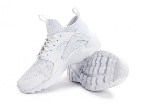 Chaussures Nike Air Huarache Run Ultra Cool Junior blanche vue avant
