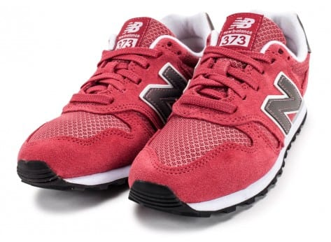 Chaussures New Balance WL373 SI Suede rose vue intérieure