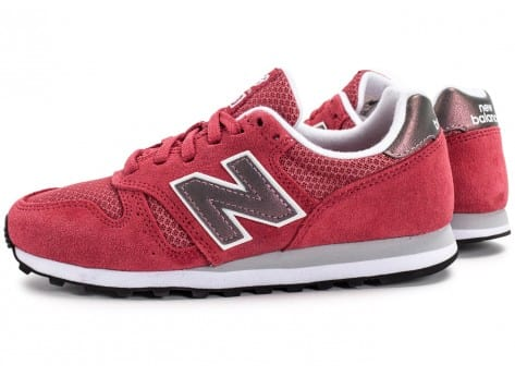 Chaussures New Balance WL373 SI Suede rose vue extérieure