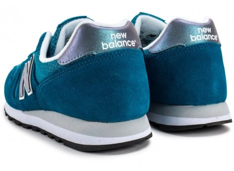 Chaussures New Balance WL373 GI Suede turquoise vue dessous