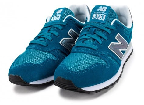 Chaussures New Balance WL373 GI Suede turquoise vue intérieure