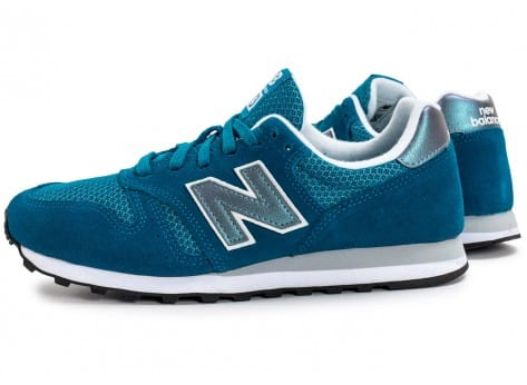 Chaussures New Balance WL373 GI Suede turquoise vue extérieure