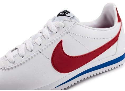 Chaussures Nike Classic Cortez Leather vue dessus