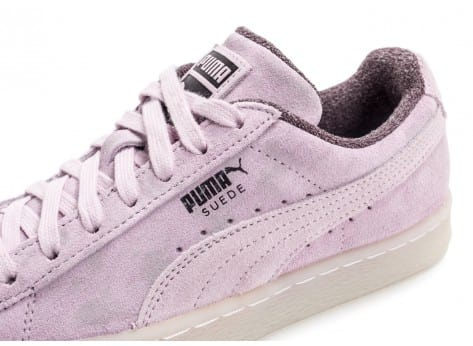 Chaussures Puma Suede Classic Elemental Lilac vue dessus