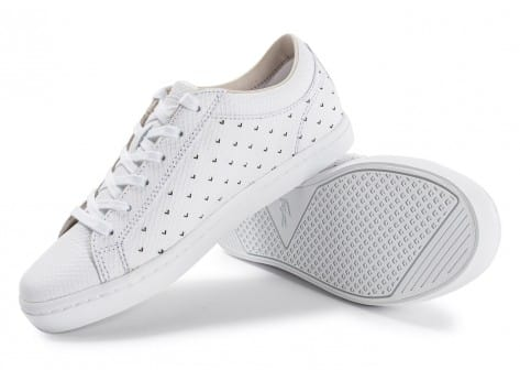 Chaussures Lacoste Straightset 117 blanche vue avant