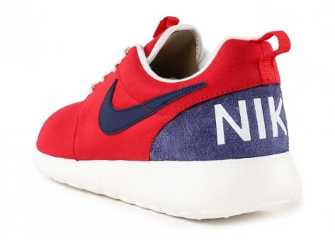 Chaussures Nike Roshe One Retro rouge vue arrière