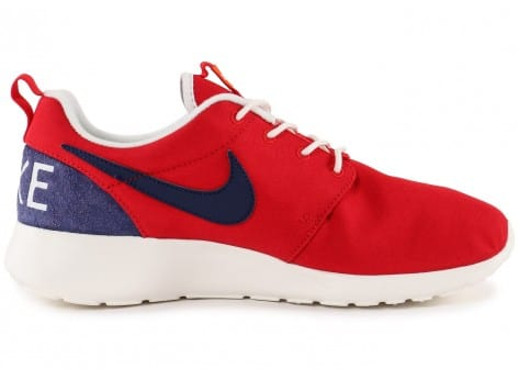 Chaussures Nike Roshe One Retro rouge vue intérieure