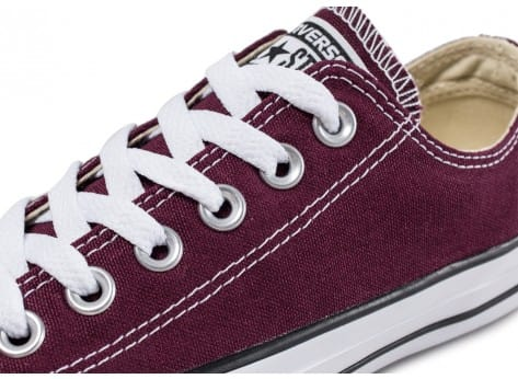 Chaussures Converse Chuck Taylor All-Star Low W bordeaux vue dessus