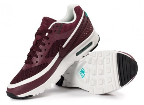 Chaussures Nike Air Max BW Ultra W bordeaux vue intérieure