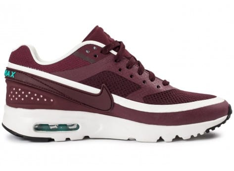 Chaussures Nike Air Max BW Ultra W bordeaux vue dessous