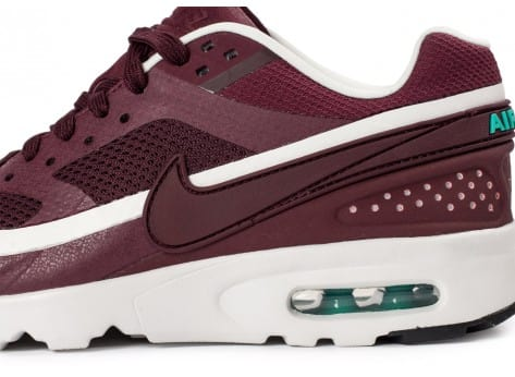 Chaussures Nike Air Max BW Ultra W bordeaux vue dessus