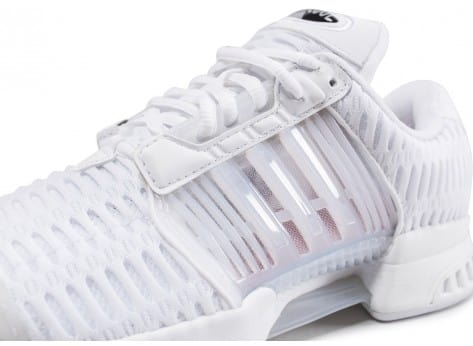 Chaussures adidas Climacool Junior blanche vue dessus