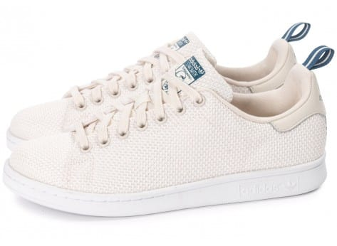 Chaussures adidas Stan Smith CK blanche vue extérieure