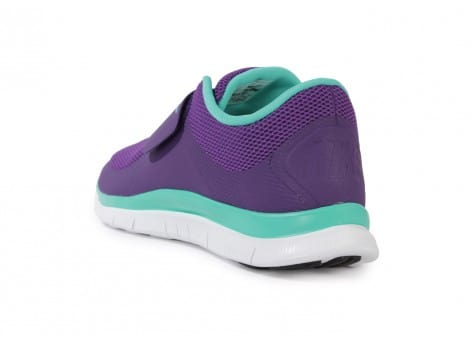 Chaussures Nike FREE SOCFLY COURT PURPLE vue arrière