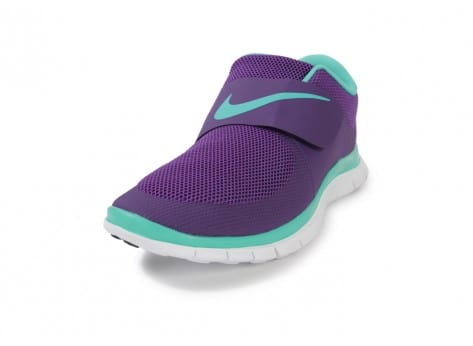 Chaussures Nike FREE SOCFLY COURT PURPLE vue avant